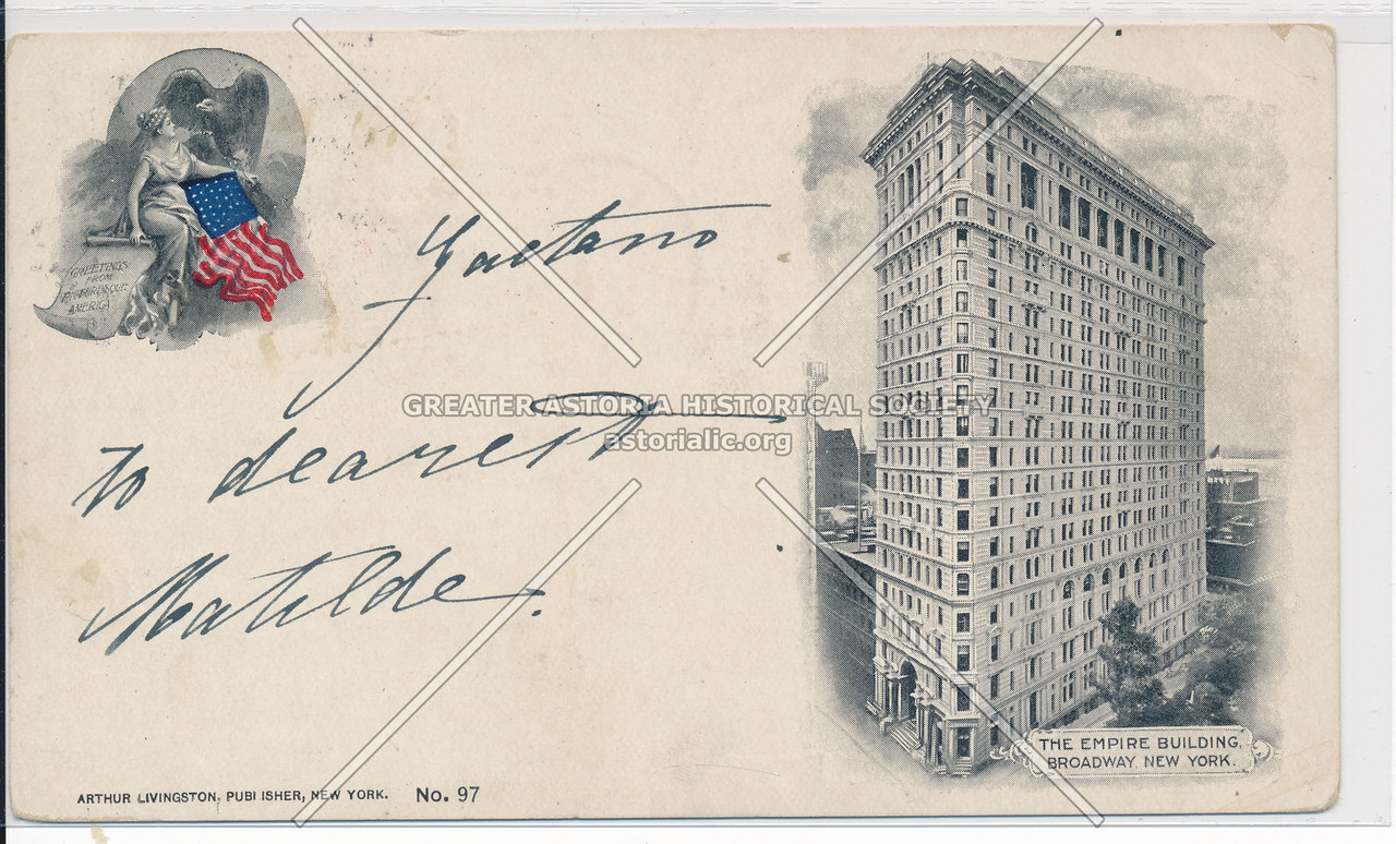 The Empire Building, Broadway, New York.