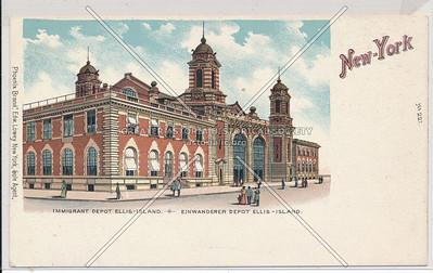 Immigrant Depot, Ellis Island NYC