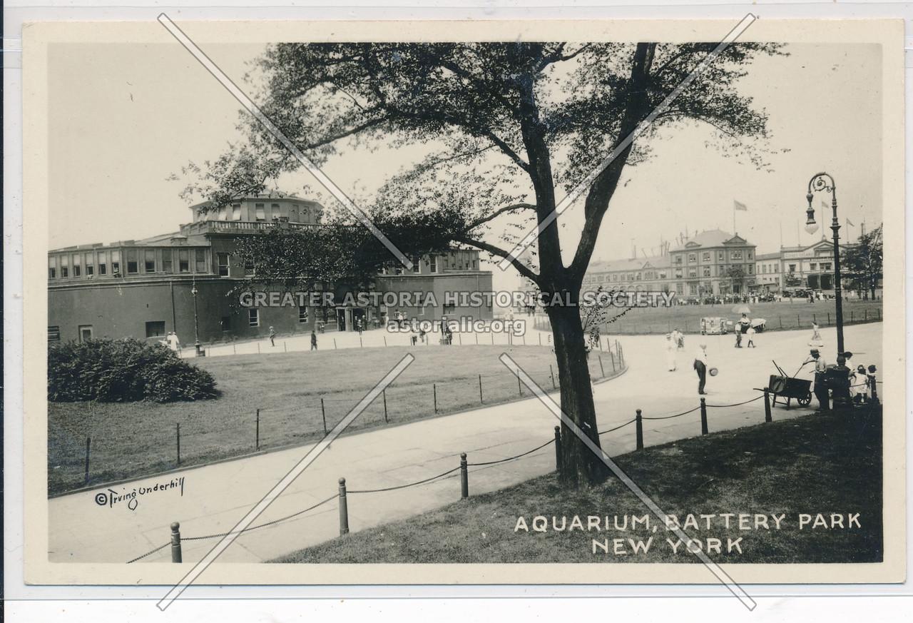 Aquarium, Battery Park, NYC