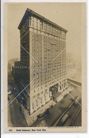 Hotel Belmont, NYC.