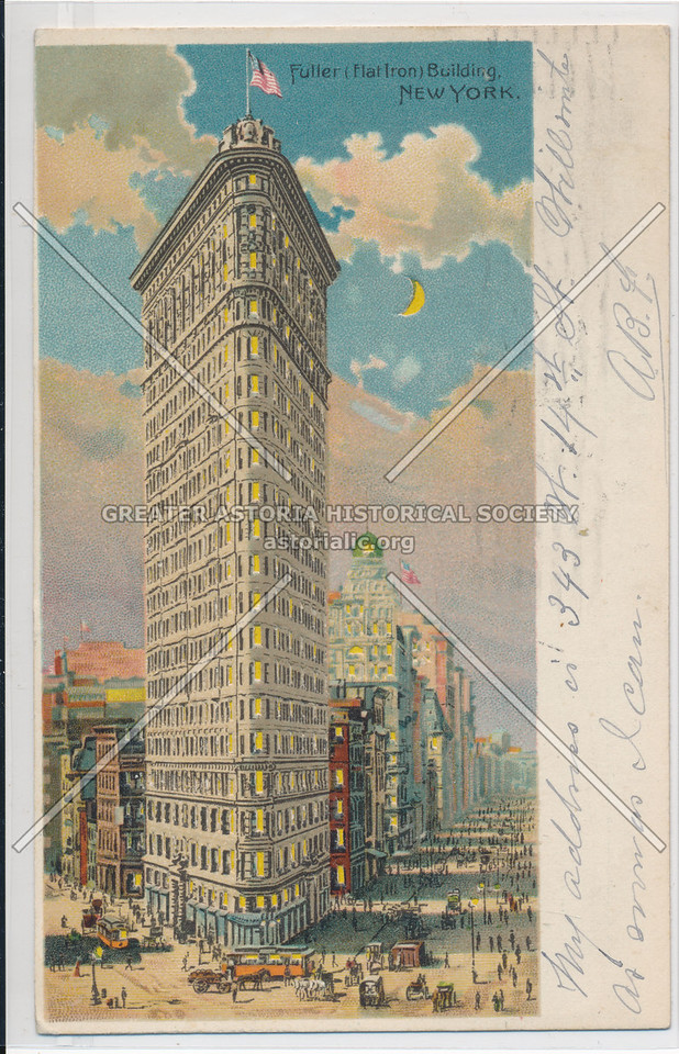 Fuller (Flat Iron) Building, NYC