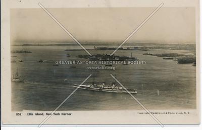 Ellis Island, New York Harbor.