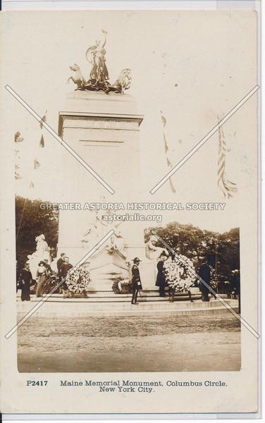 Maine Memorial Monument, Columbus Circle, NYC