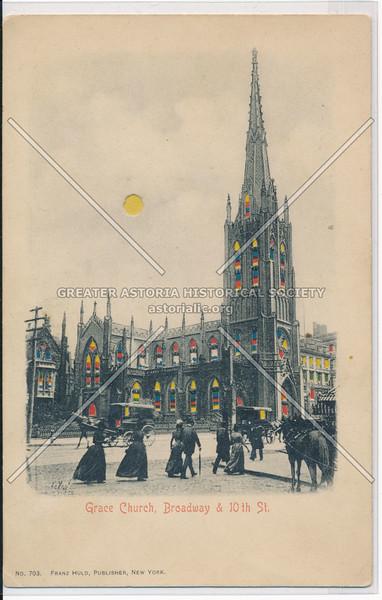 Grace Church, Broadway & 10th St., NYC