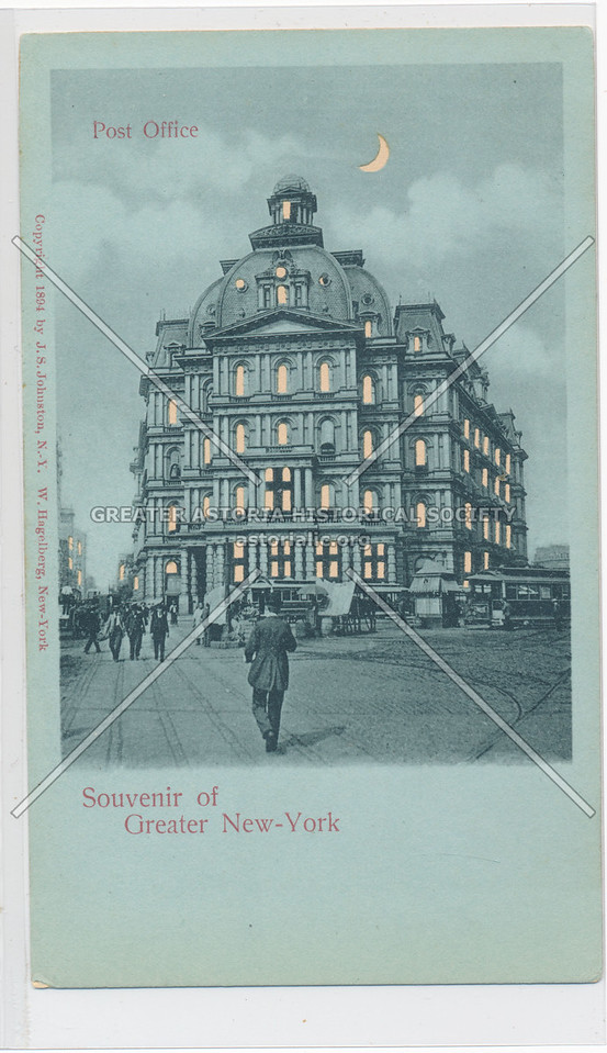 Souvenir of Greater New-York, Post Office