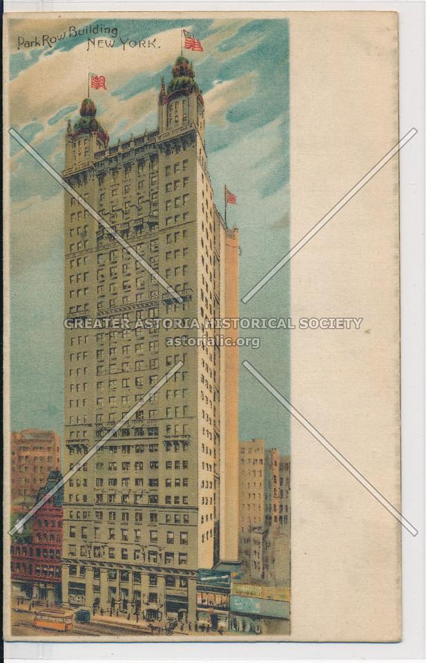Park Row Building, New York.