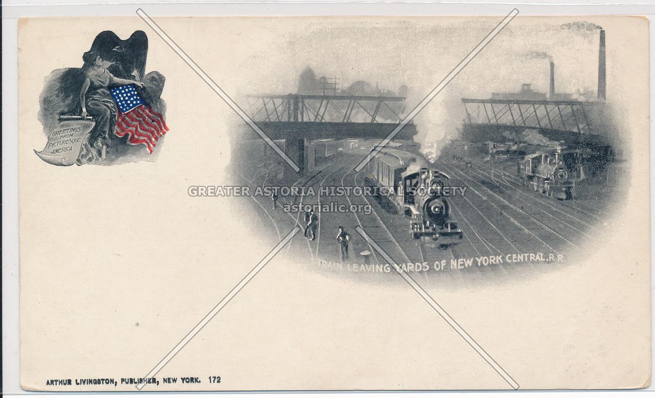 NY Central Rail Yards, NYC