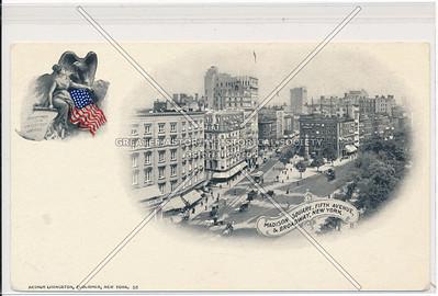 Madison Square, Fifth Avenue, & Broadway, New York