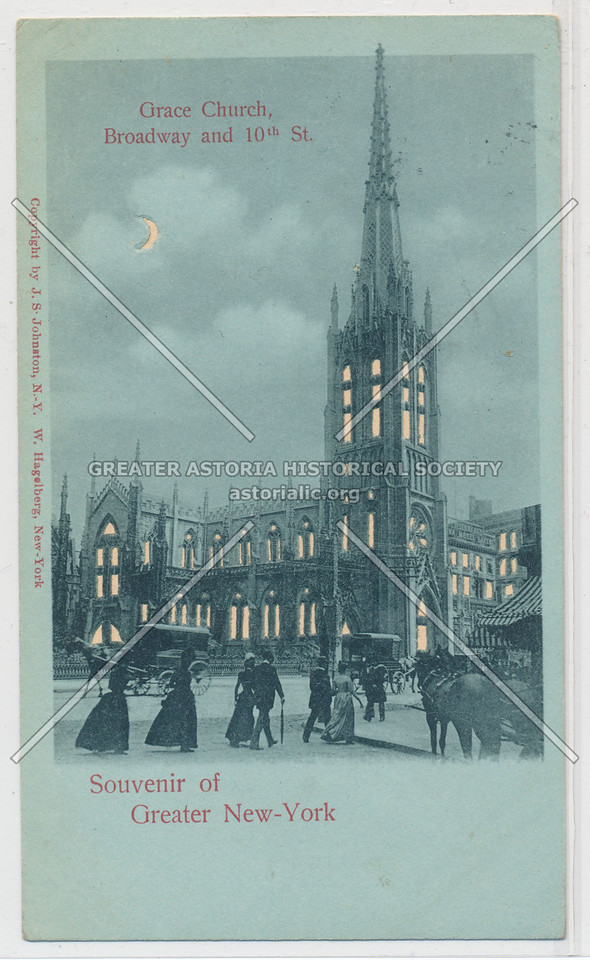 Souvenir of Greater New-York, Grace Church, Broadway and 10th St.
