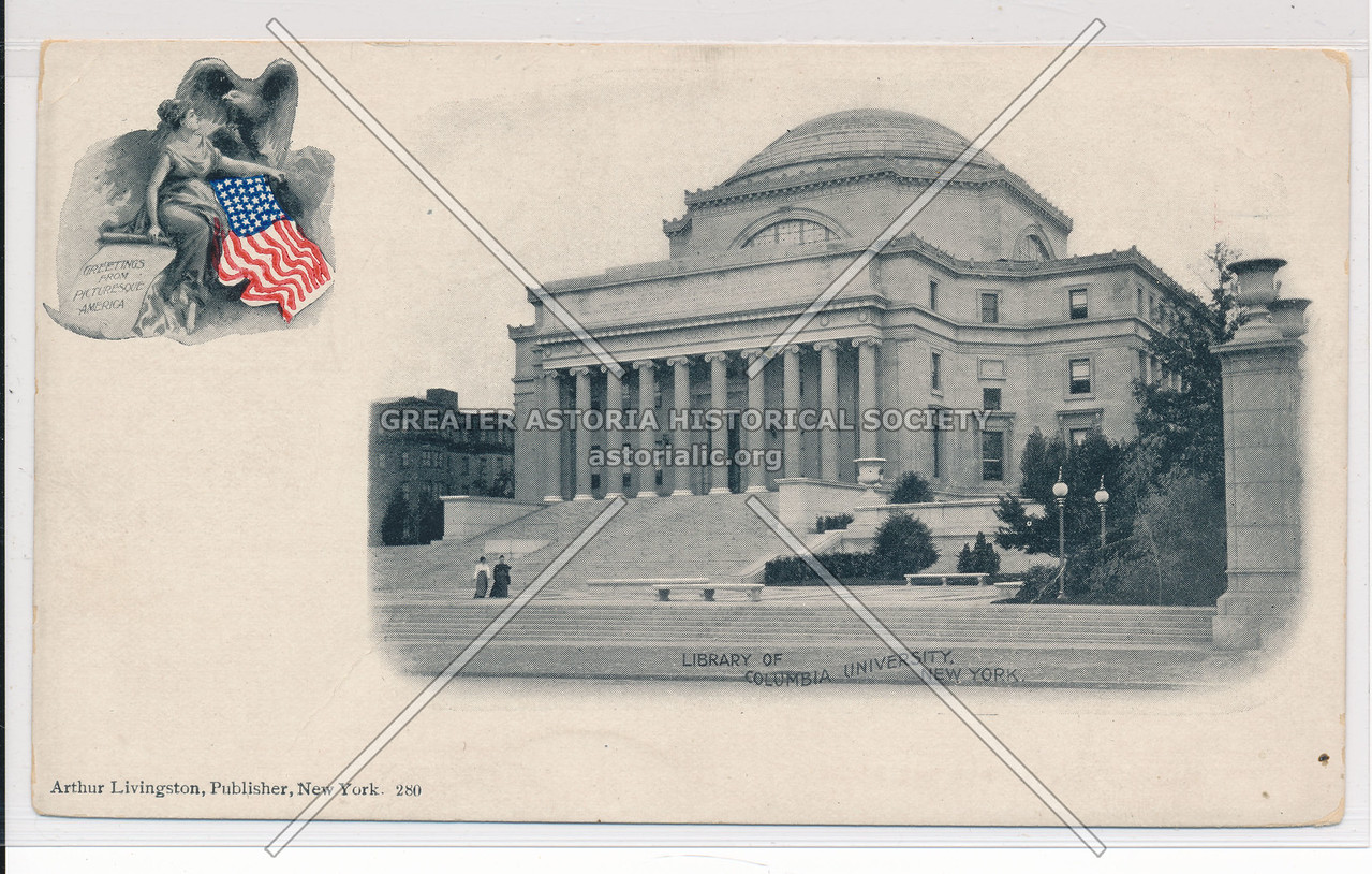 Columbia U Library, NYC