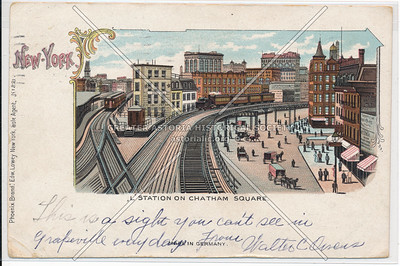 El Station on Chatham Sq, NYC
