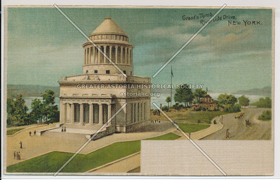 Grant's Tomb, Riverside Drive, New York.
