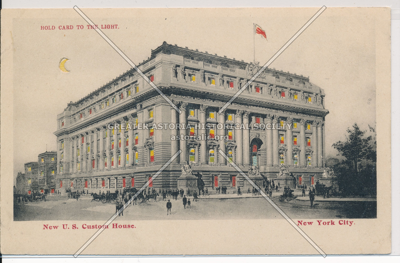 New U.S. Custom House. NYC