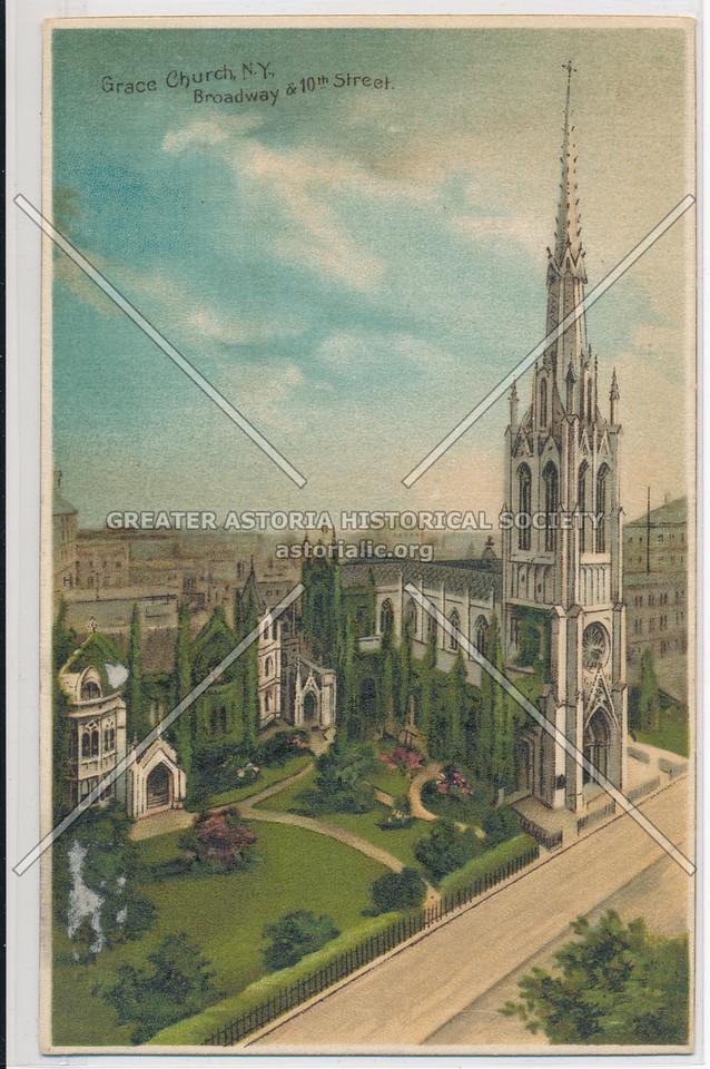 Grace Church, N.Y., Broadway & 10th Street.