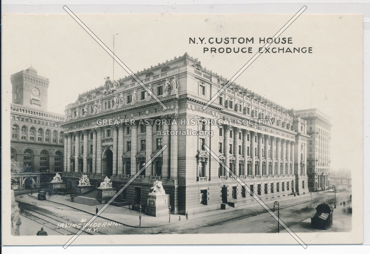 N.Y. Custom House Produce Exchange, NYC