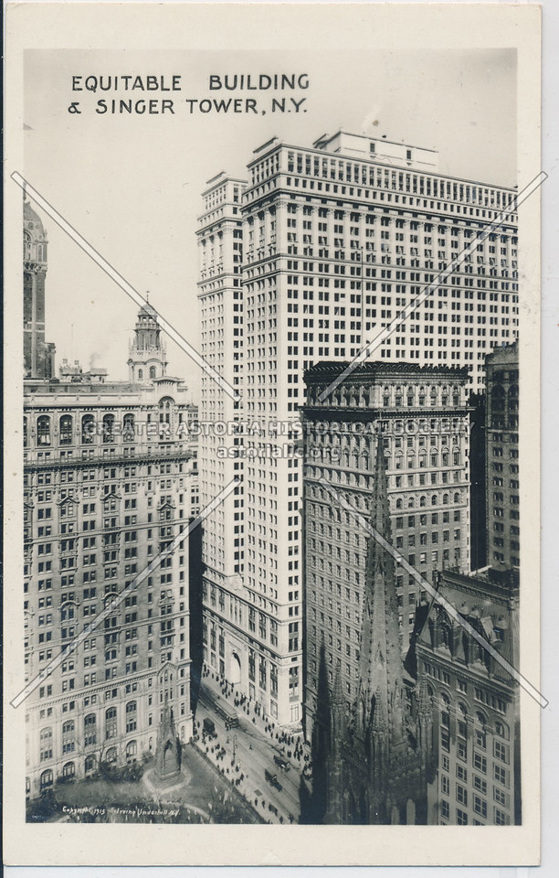 Equitable Building & Singer Tower, NYC