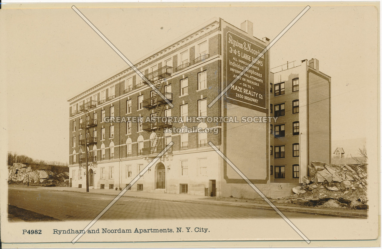 Ryndham and Noordam Apartments, NYC