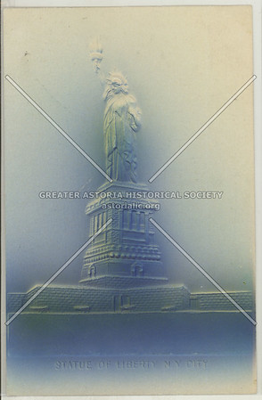 The Statue of Liberty of New York City