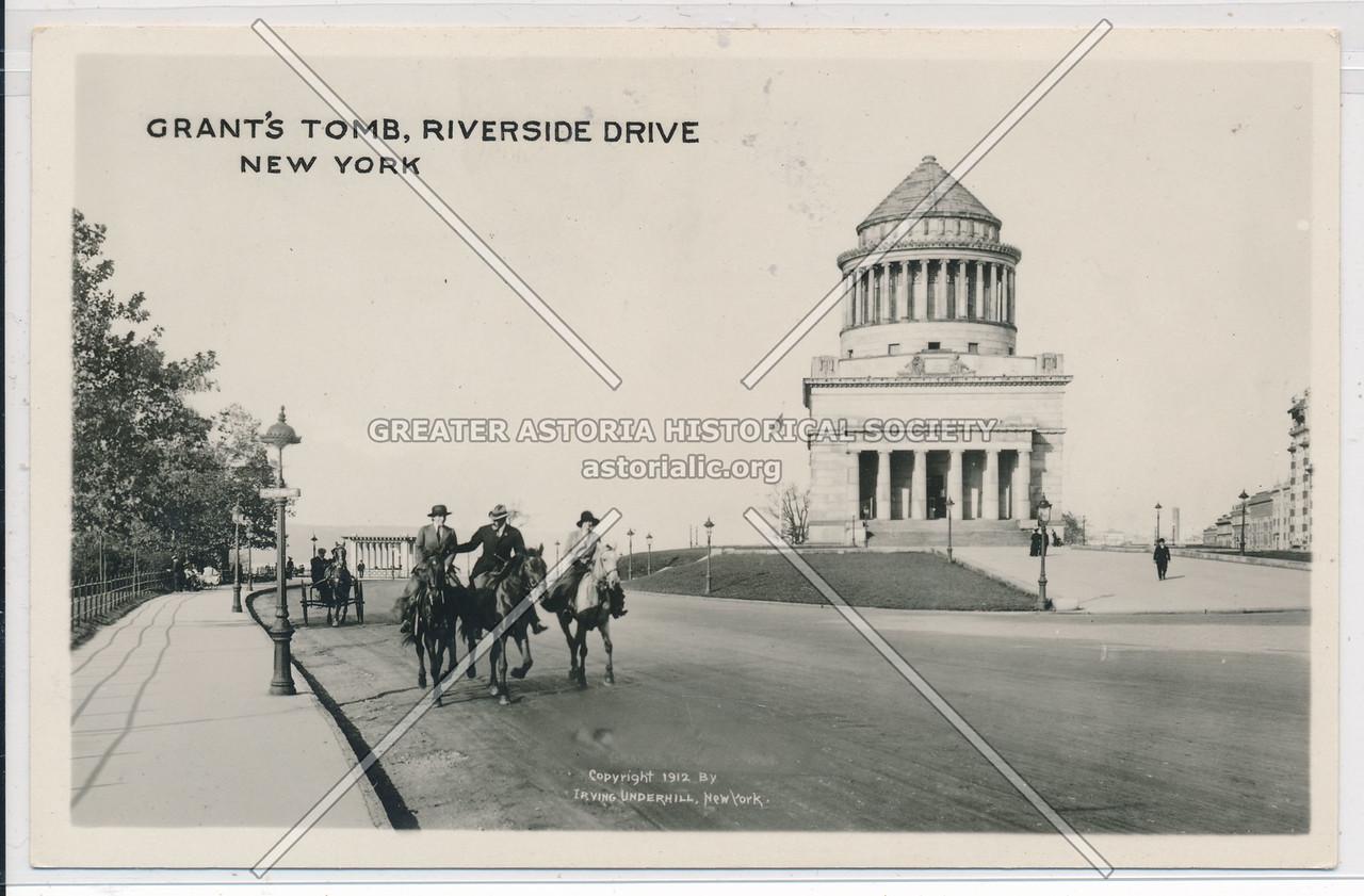 Grant's Tomb, Riverside Drive, NYC