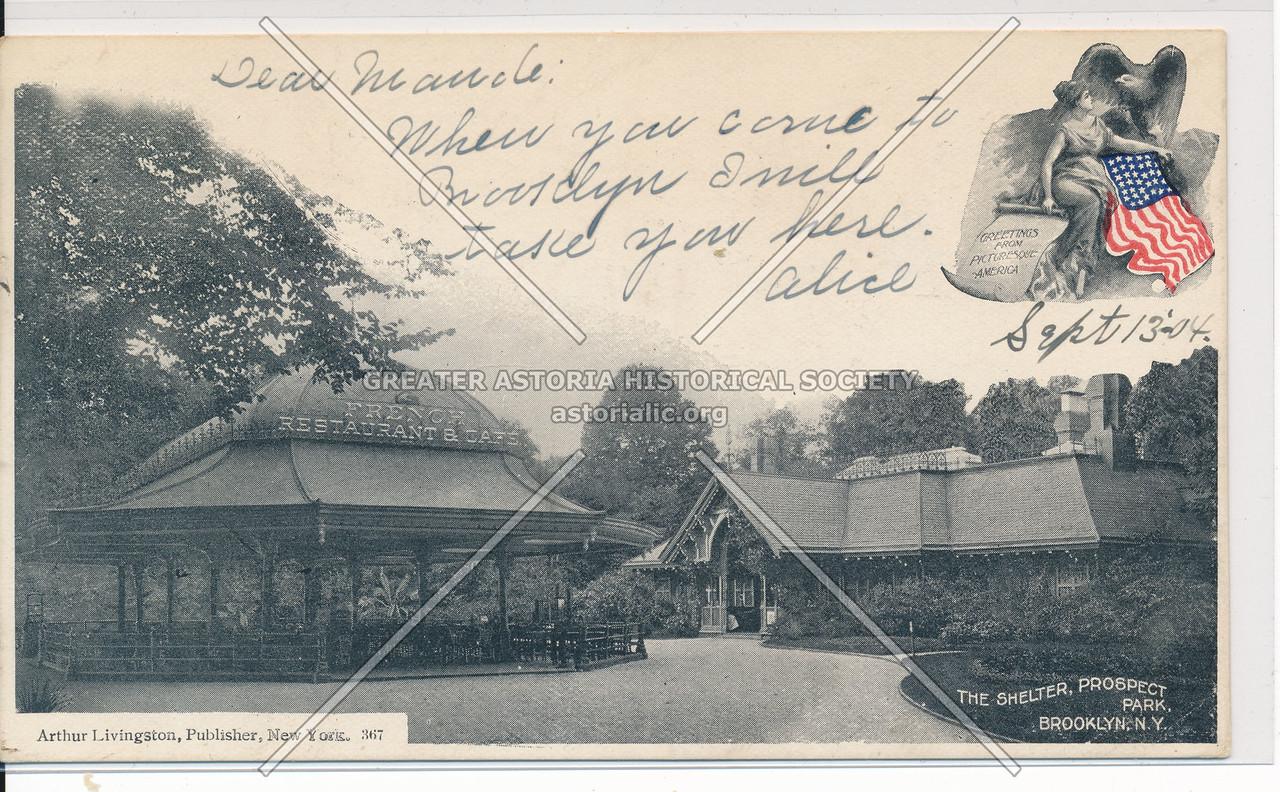 Shelter, Prospect Park, Bklyn