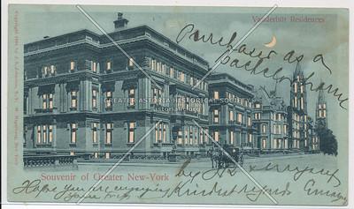 Souvenir of Greater New-York, Vanderbilt Residences