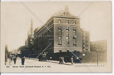 Nurses' Home, Roosevelt Hospital, NYC