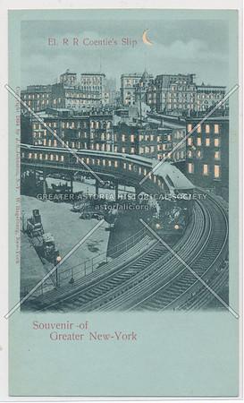 Souvenir of Greater New-York, El. R R Coentie's Slip