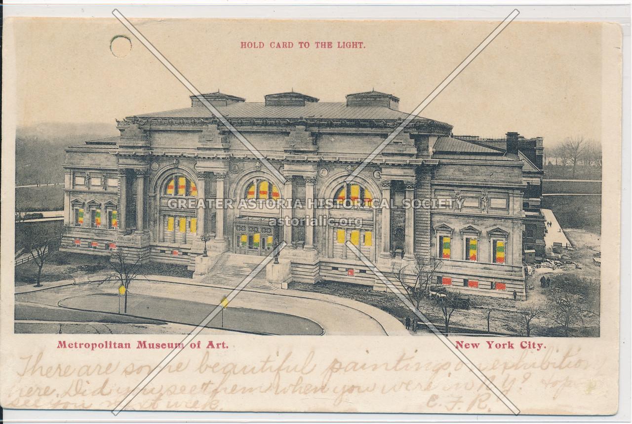 Metropolitan Museum of Art. NYC