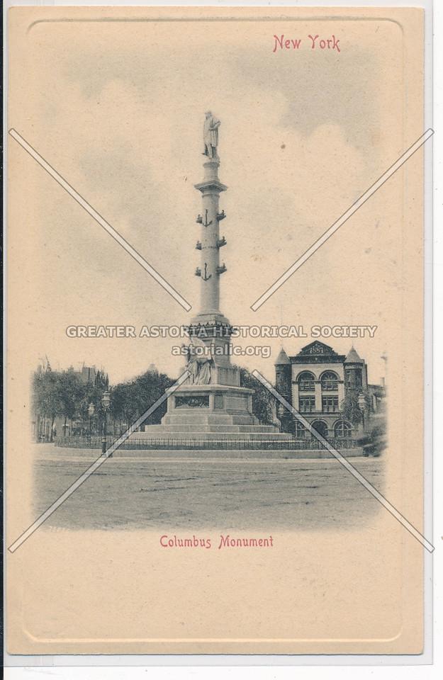 Columbus Monument, NYC
