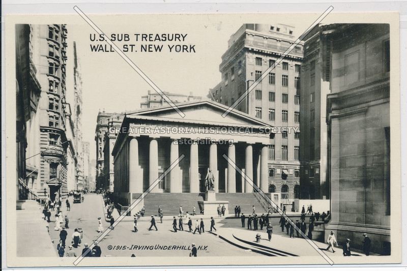 U.S. Sub Treasury Wall St., NYC