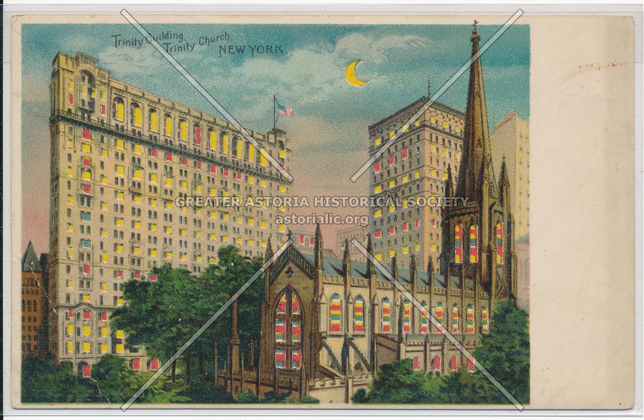 Trinity Building, Trinity Church, NYC