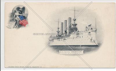 Cruiser USS Brooklyn