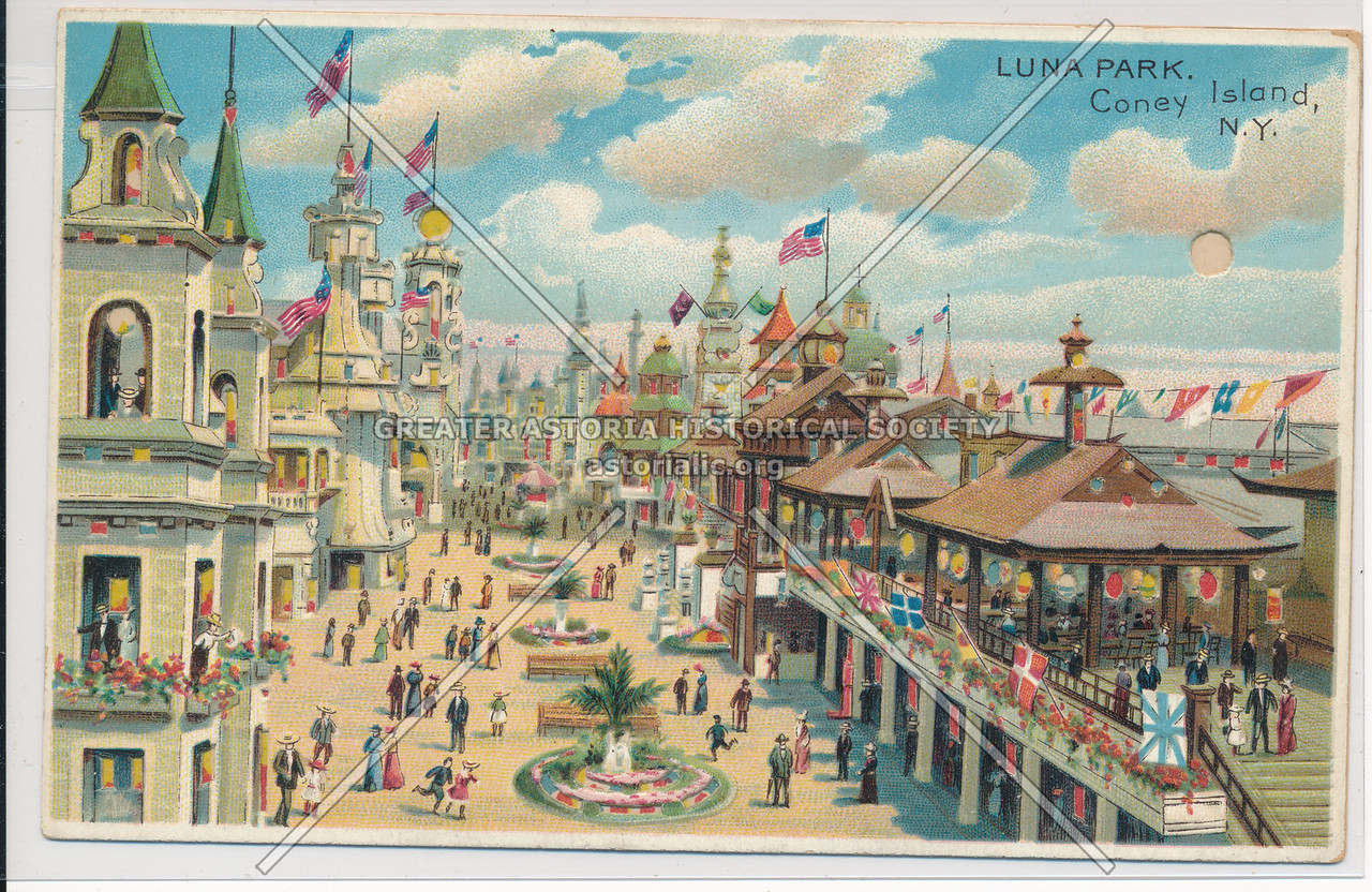 Luna Park, Coney Island, Bklyn