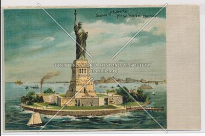 Statue of Liberty, New York Harbor