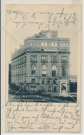 Cooper Institute, NYC
