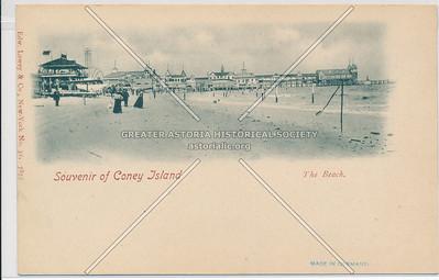 The Beach at Coney Island, NY