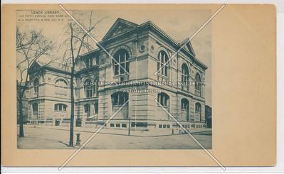 Lenox Library, NYC