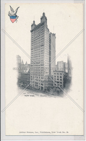 The Syndicate (Park Row) Building, NYC