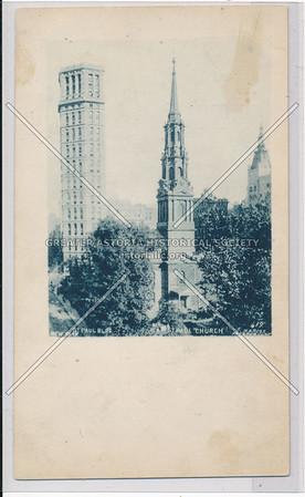St. Paul Building & St. Paul Church, NYC