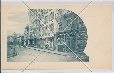 Chinese Quarter, Doyers St, NYC