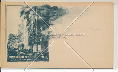 Windsor Hotel Fire, NYC (1899)