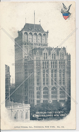 American Tract Society and Times Buildings, NYC