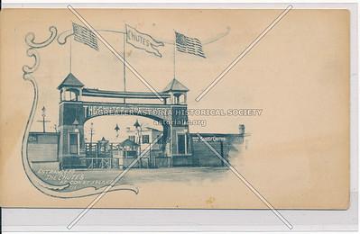 Entrance to The Chutes at Coney Island, Bklyn