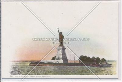Bartholdi Statue (Statue of Liberty), New York [City] Harbor