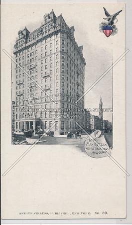 Hotel Manhattan, 42nd St. and 5th Av., NYC