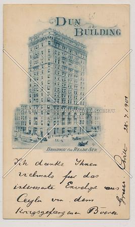 Dun Building, B'way & Reade St, NYC