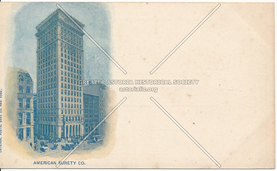 American Surety Co., NYC