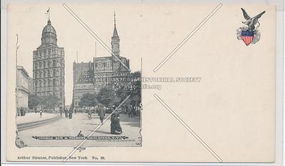 World Sun and Tribune Buildings, NYC
