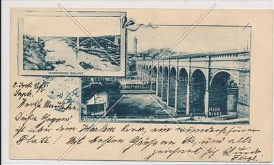 Washington & High Bridges, NYC