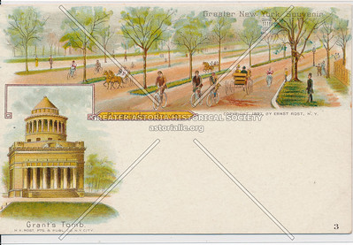 General Grant's Tomb and Riverside Drive, NYC